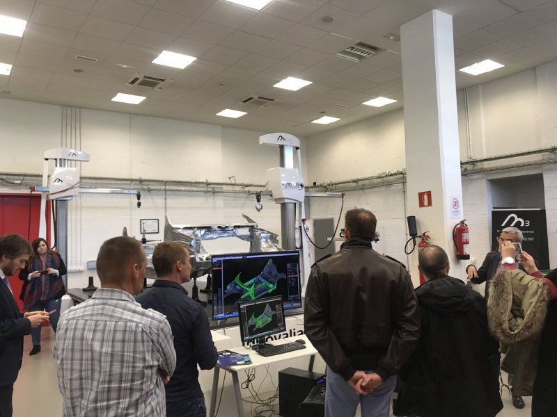Trimek showing their machines and the need of dimensional metrology in 3D printing